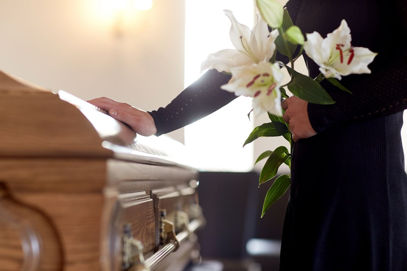 Traditional Cremation Option $5,250 - Cremation service in the church or other location away from the crematorium.